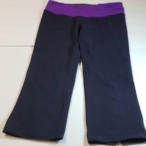 Lululemon yoga crop leggings